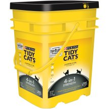 Purina Tidy Cats Clumping Litter 4-in-1 Strength for Multiple Cats 35 lb. Pail