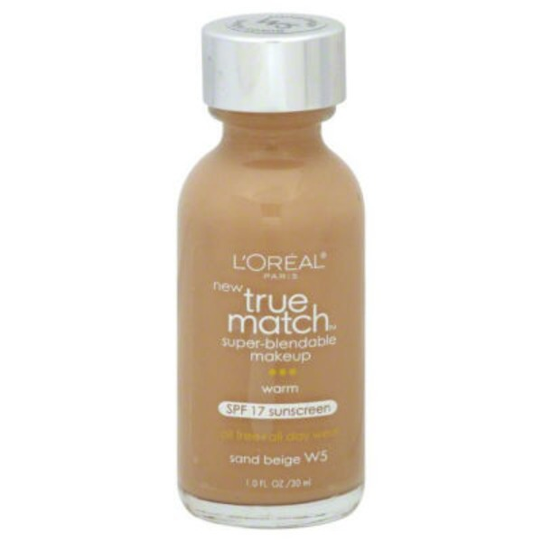 True Match Warm Sand Beige W5 Super-Blendable Makeup