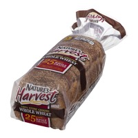 Nature's Harvest 100% Stone Ground Whole Wheat Whole Grains Bread