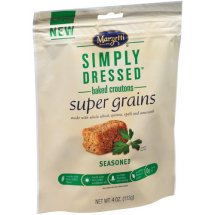 Marzetti Simply Dressed Baked Croutons Super Grains Seasoned, 4 oz