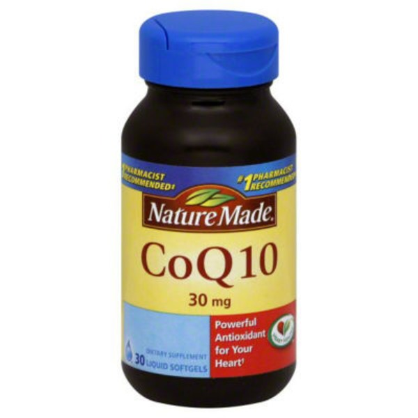 Nature Made CoQ10 30mg Dietary Supplement Liquid Softgels - 30 CT