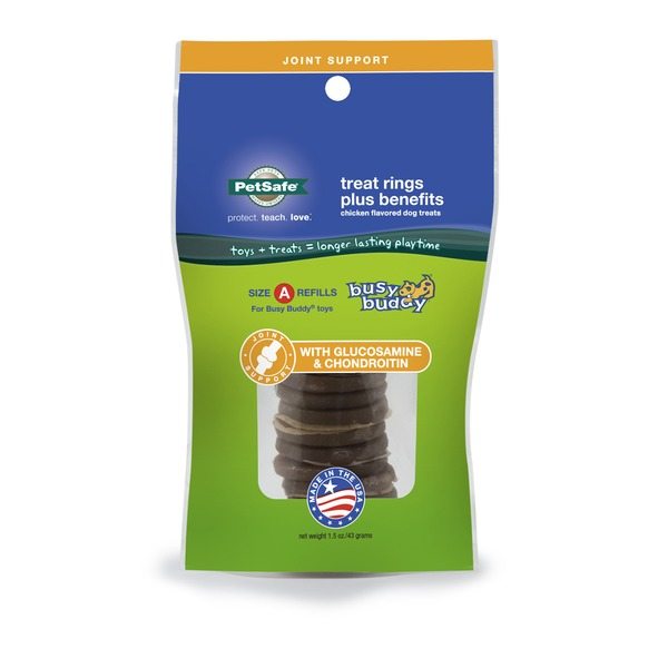 Pet Safe Busy Buddy Joint Support Treat Ring Refills