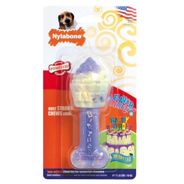 Nylabone Flavor Frenzy Dura Chew Bone Birthday