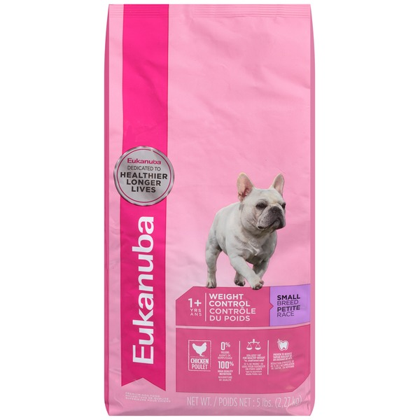 Eukanuba Adult 1+ Yrs Weight Control Small Breed Chicken Dog Food