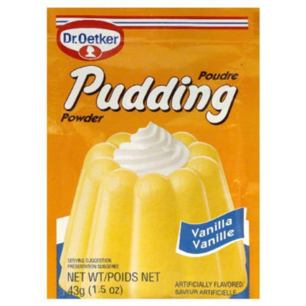 Dr. Oetker Pudding Mix Vanilla - 3 CT