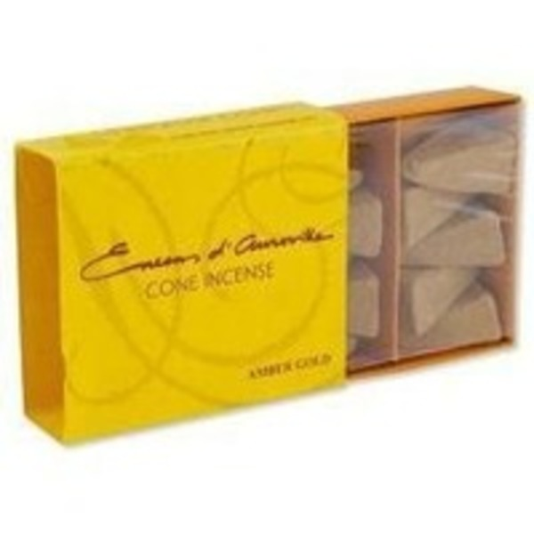 Maroma Amber Gold Cone Incense