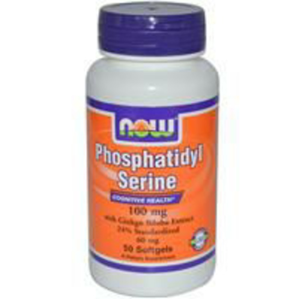 Now Phosphatidyl Serine 100 Mg Softgels