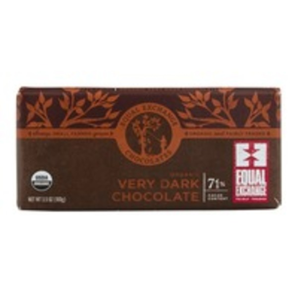 Equal Exchange Organic Very Dark Chocolate 71% Cacao