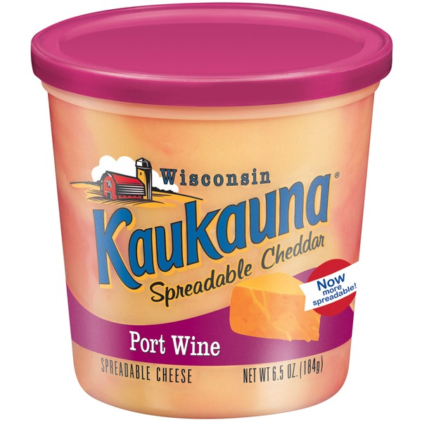 Bel Kaukauna Port Wine Spreadable Cheese