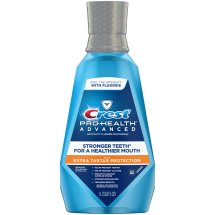 Crest® Pro-Health™ Advanced with Extra Tartar Protection Anticavity Fluoride Mouthwash 33.8 fl. oz. Bottle