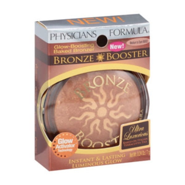 Bronze Booster Medium to Dark 6682 Bronze Booster Glow-Boosting Baked Bronzer
