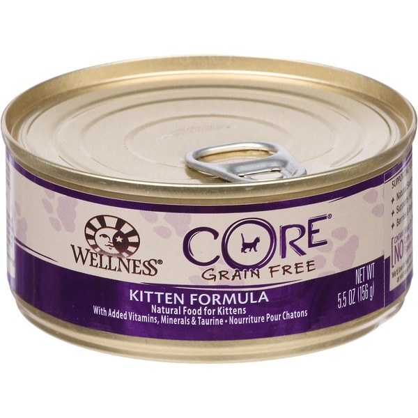 Wellness Core Chicken Turkey & Chicken Liver Canned Kitten Food