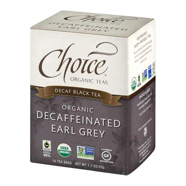 Choice Organic Teas Organic Decaffeinated Earl Grey