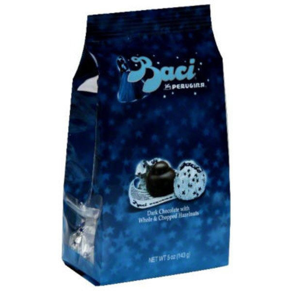 Perugina Baci Dark Chocolate with Whole & Chopped Hazelnuts