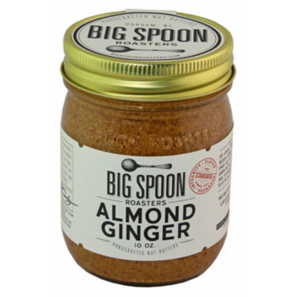 Big Spoon Roasters Almond Ginger Butter