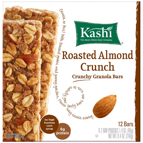 Kashi Crunchy Roasted Almond Crunch Granola Bars