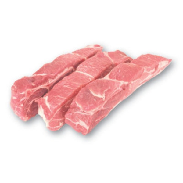 Market Country Style Pork Ribs, Boston Butt Cut Value Pack