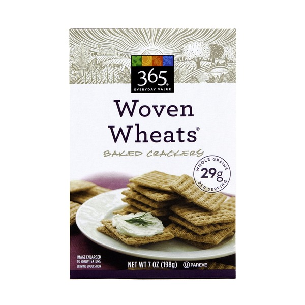 365 Woven Wheats Baked Crackers