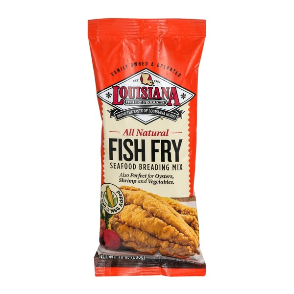 Louisiana Fish Fry Products Products All Natural Seafood Breading Mix Fish Fry