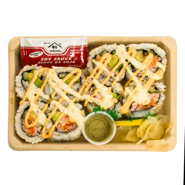 Kikka Sushi Spicy Crab California Roll