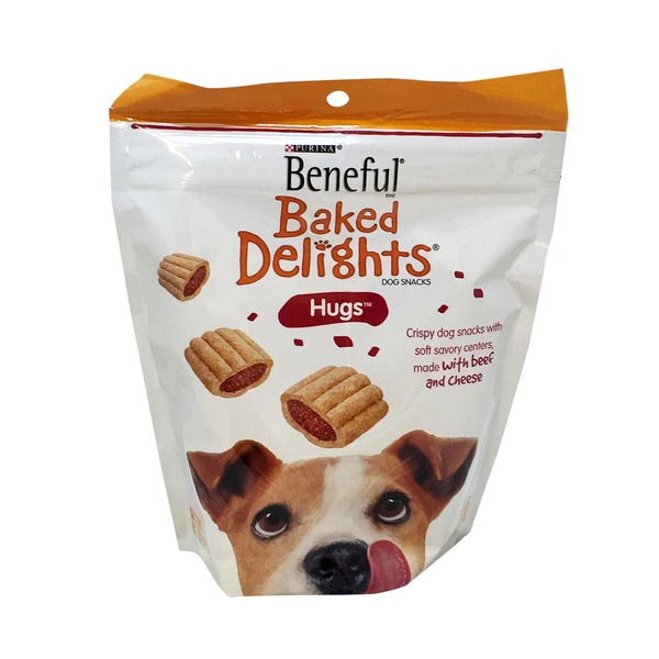 Beneful Treats Baked Delights Hugs Dog Snacks