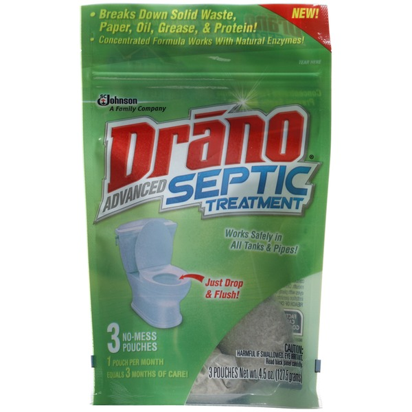 Drano Advanced Septic Treatment Clog Remover