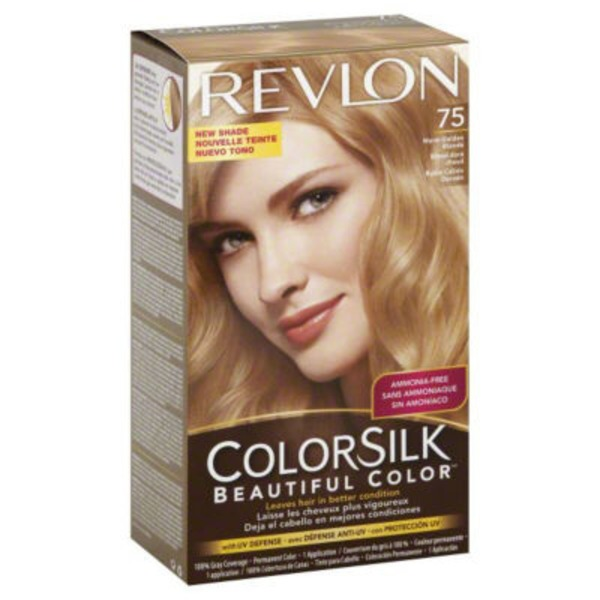 Colorsilk Warm Golden Blonde 75 Permanent Color