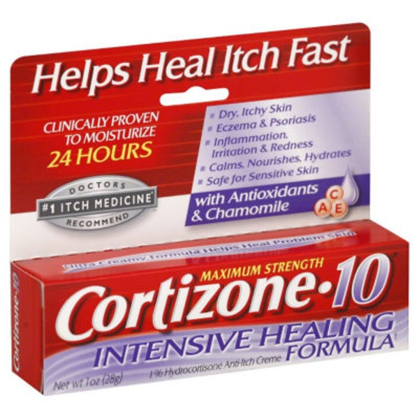 Cortizone-10 Intensive Healing Formula Anti-Itch Creme Maximum Strength