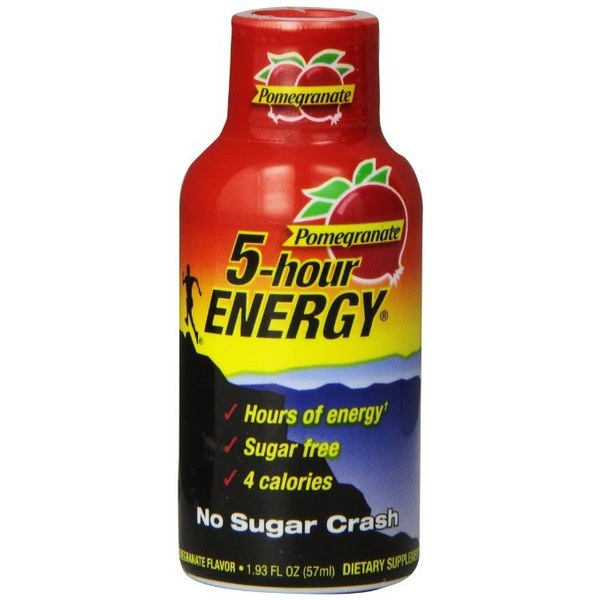 5-Hour Energy Pomegranate Flavored Drink