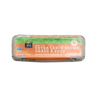 365 Extra Large Cage Free Brown Grade A Eggs