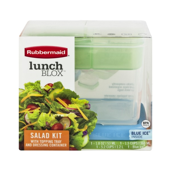 Rubbermaid LunchBlox Salad Kit