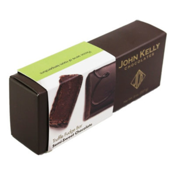 John Kelly Chocolate Semi Sweet Truffle Fudge Chocolate Bar