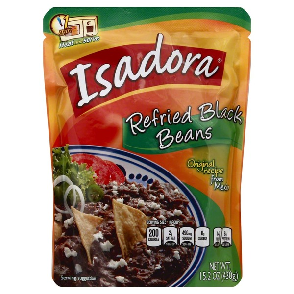 Isadora Refried Black Beans