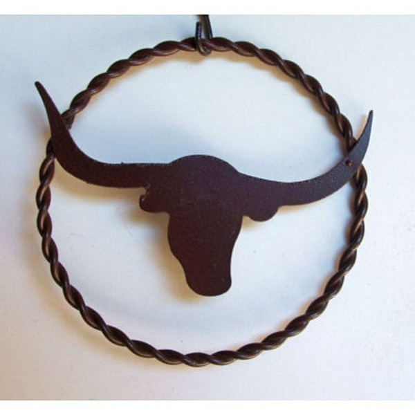 Interpro 5 Inch Metal Longhorn With Ring