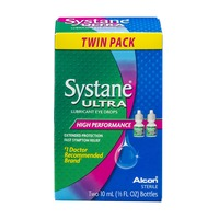 Systane Ultra High Performance Lubricant Eye Drop Bottles Twin Pack - 2 CT