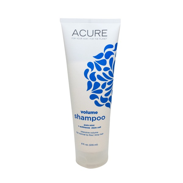 Acure Pure Mint + Echinacea Stem Cell Shampoo