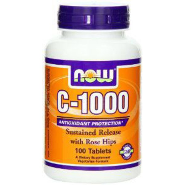 Now Vitamin C 1000 With Rose Hips