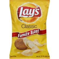 Lays Potato Chips Classic Family Size!