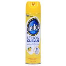 Pledge Lemon Clean Furniture Spray 9.7 Ounces.