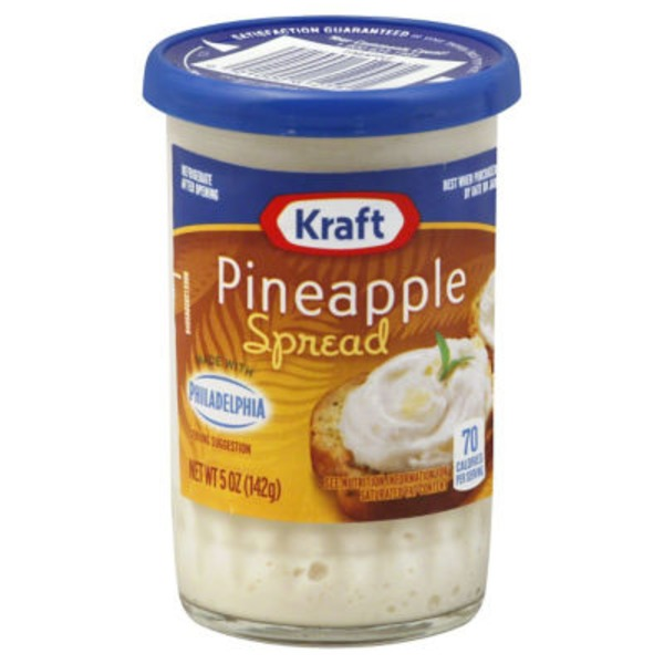 Kraft Cheese Spreads Pineapple Cheese Spread