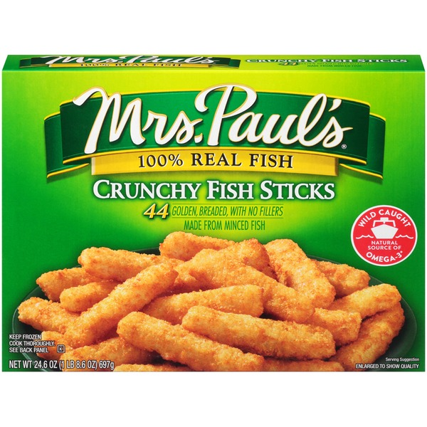 Mrs. Paul's Crunchy Fish Sticks