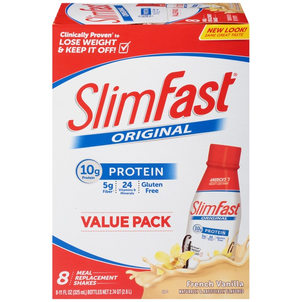 Slimfast Original French Vanilla Meal Replacement Shake