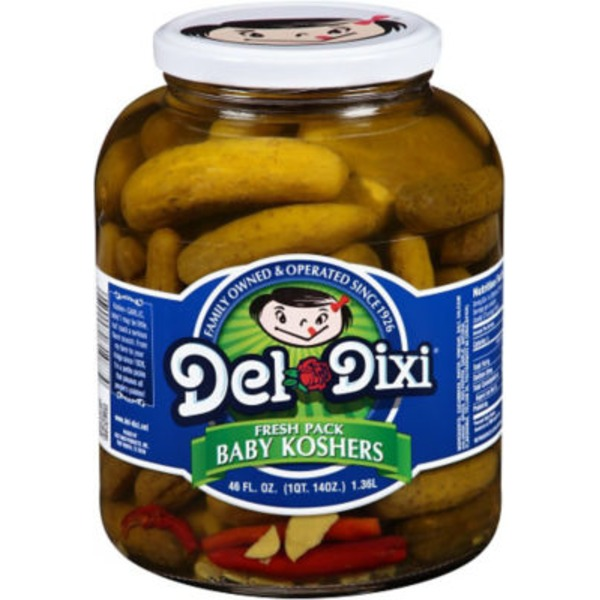 Del Dixi Fresh Pack Baby Koshers Pickles