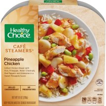 Healthy Choice Cafe Steamers Pineapple Chicken, 9.9 ounce