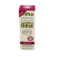 Andalou Naturals 1000 Roses Moroccan Beauty Oil for Sensitive Skin