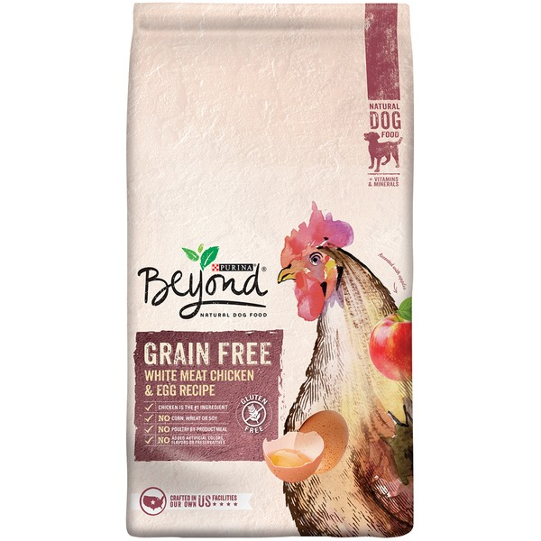 Beyond Dog Dry Grain Free White Meat Chicken & Egg Recipe Dog Food