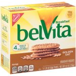 belVita Breakfast Biscuits Golden Oat, 1.76 oz, 5 Count