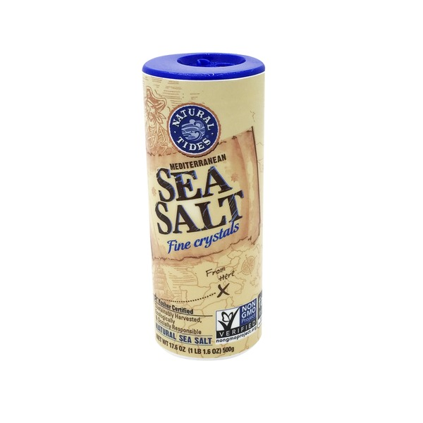 Natural Tides Mediterranean Fine Crystals Sea Salt