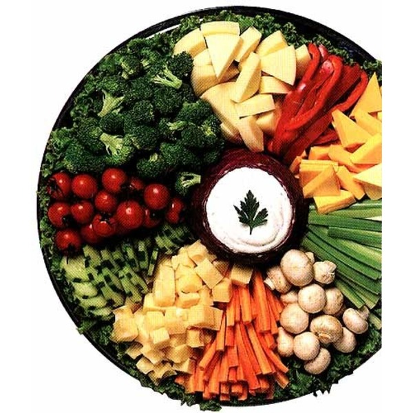 Kroger Fresh Selections No Dip Vegetable Tray