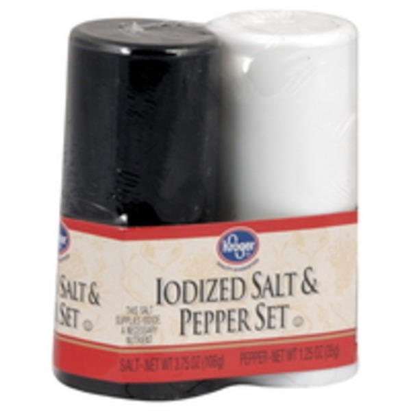 Kroger Salt & Pepper Set
